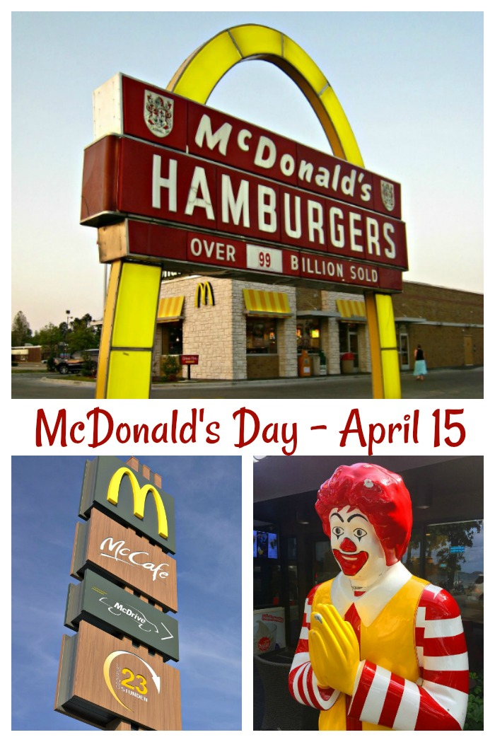 April 15 is McDonald's Day. Get some fun facts about the successful food franchise.