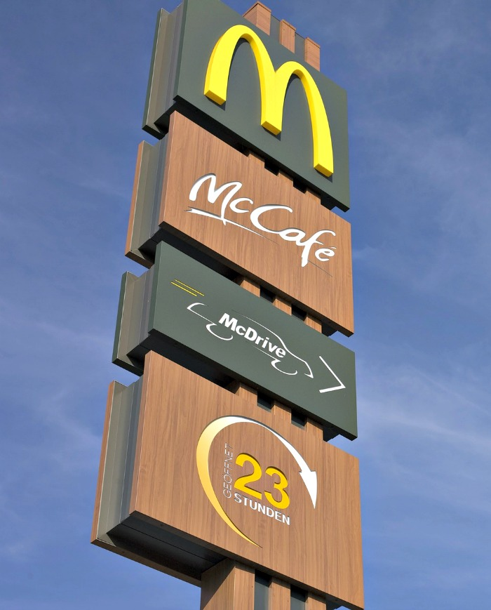 McDonald's started in 1955 and is one of the most successful food franchises in the world.