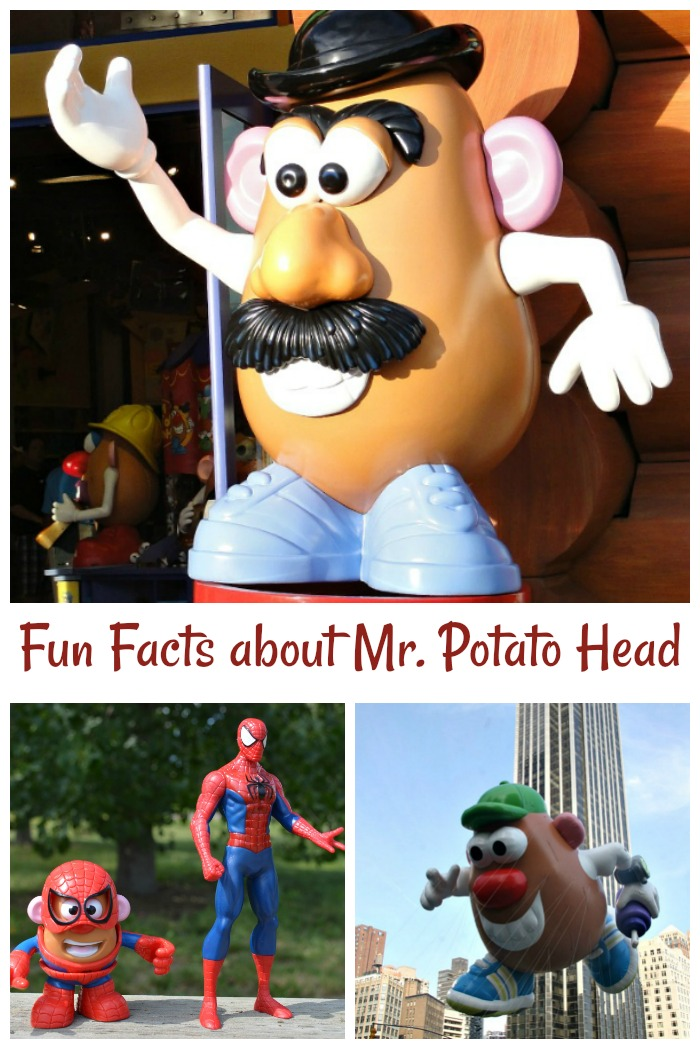 April 30 is Mr. Potato Head Day. Click through for some fun facts about the history of this popular toy.