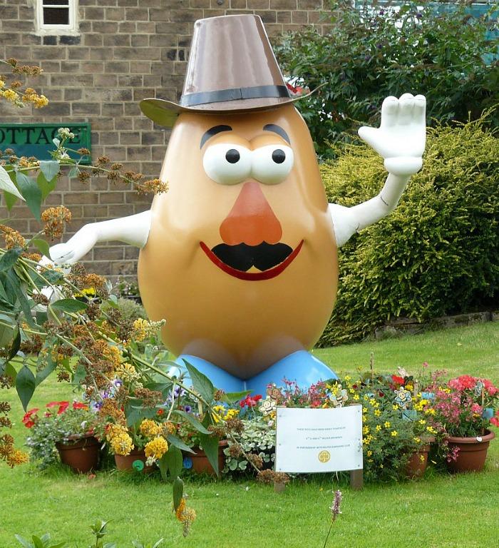 Mr. Potato Head Garden Gnome