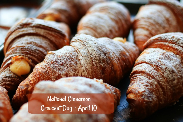 National Cinnamon Crescent Day