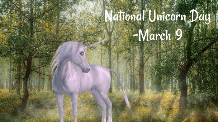 National Unicorn day is March 9