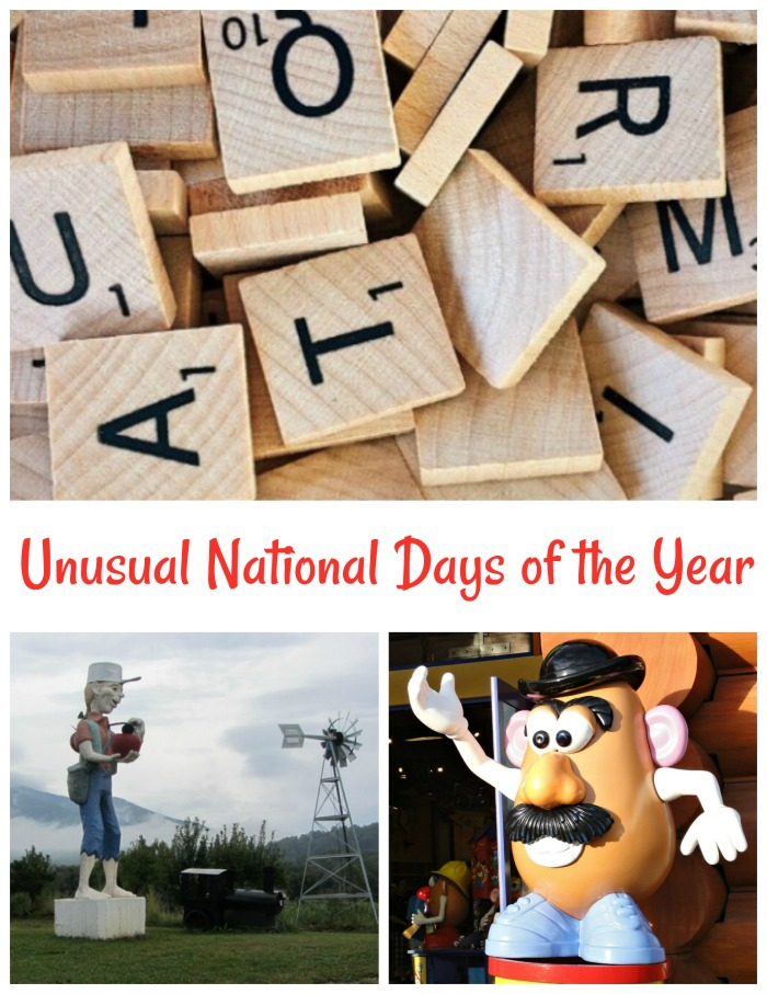 Unusual National Days of the year.