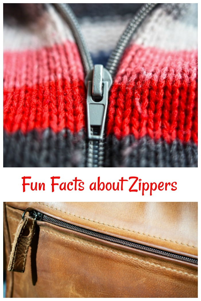 Get some fun facts and history about zippers.