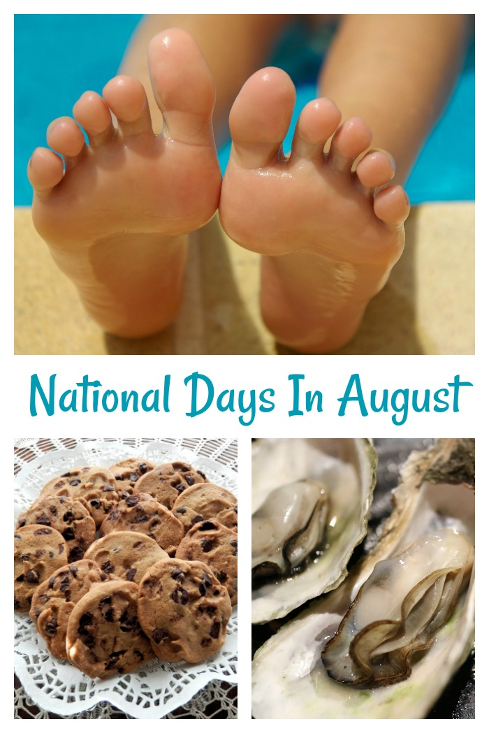 Celebrate the National Days in August