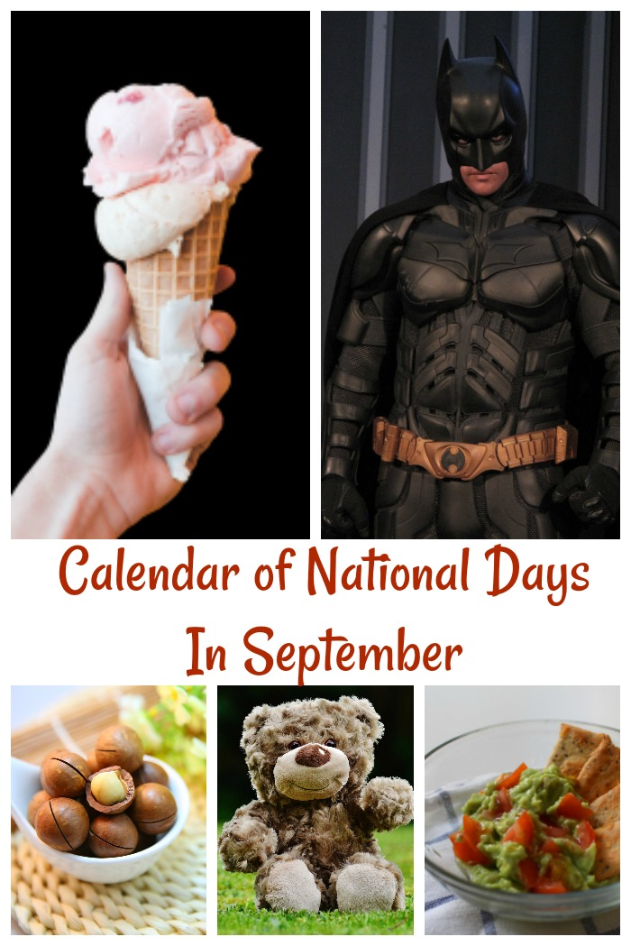 Calendar of National Days in September