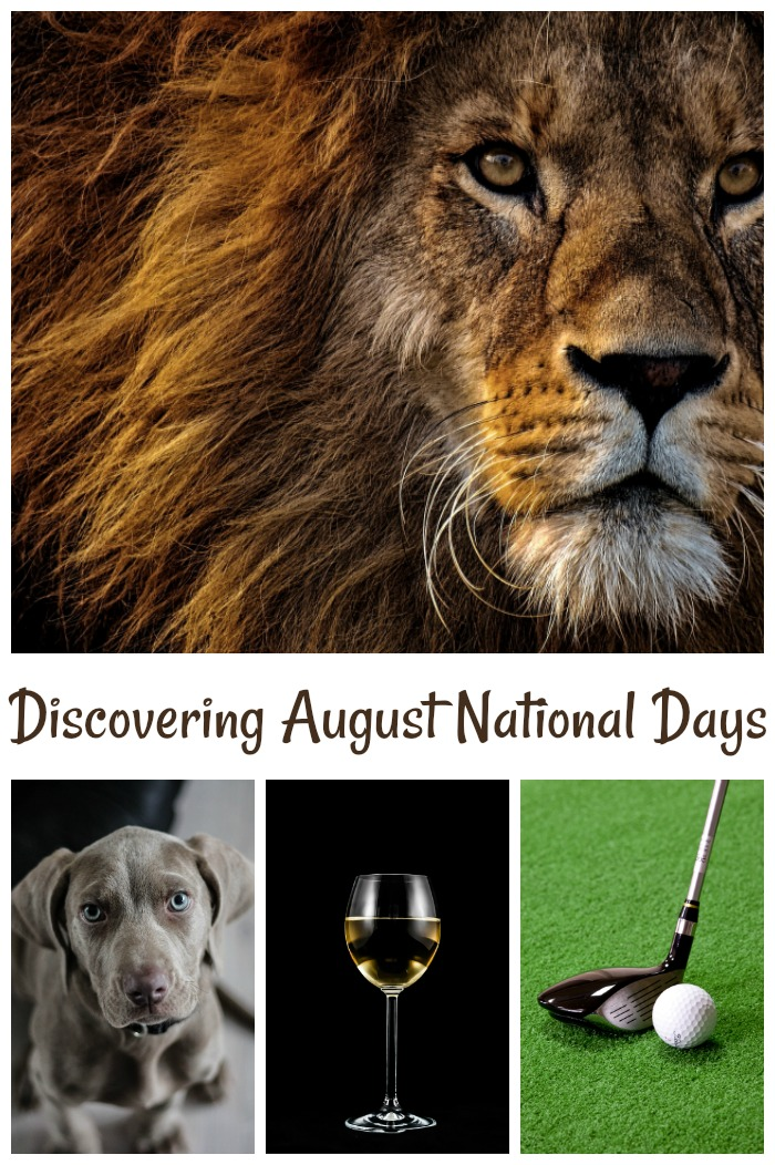 Find out all about the National Days in August