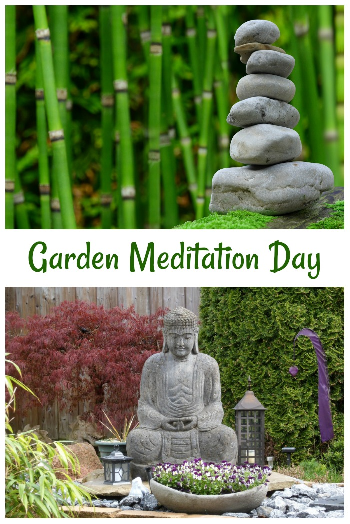 National Garden Meditation Day is May 3. Find out how to transform your garden space with mediation in mind.