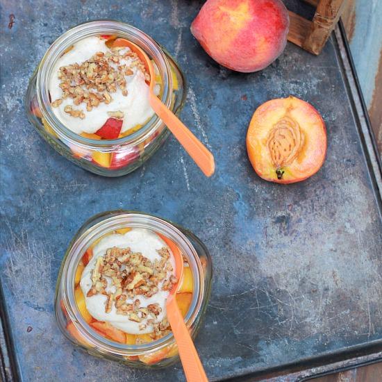 Raw Peaches and Cream