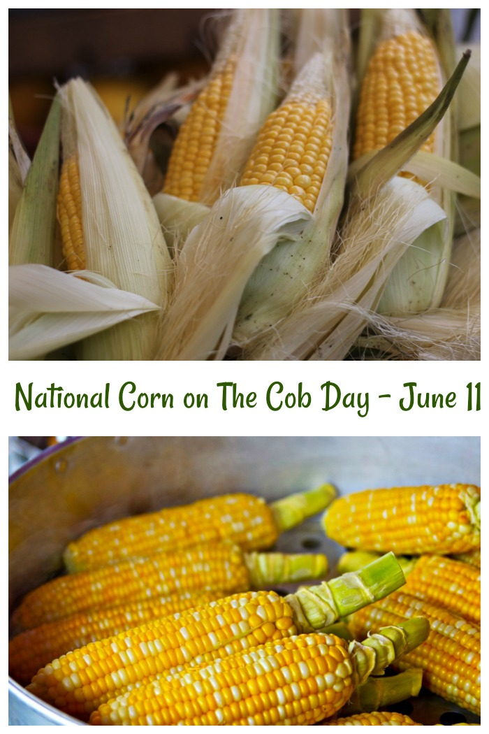 National Corn on the Cob Day is June 11