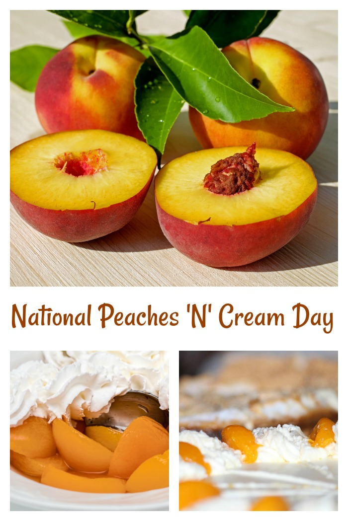 National Peaches 'N' Cream Day is June 21