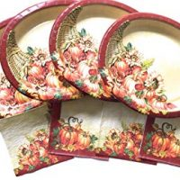 Thanksgiving Paper Plates and Napkins -