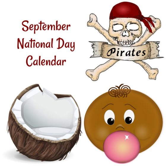 September National Day Calendar Free Printable