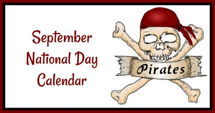 September free printable calendar
