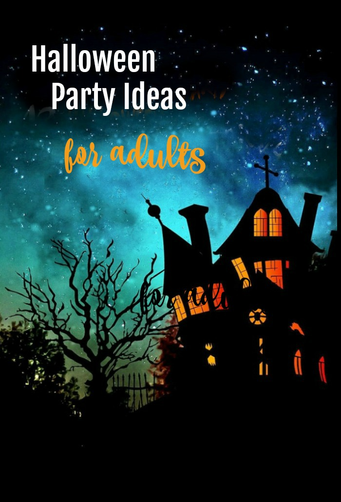 Adult Halloween party ideas for food, drink, decor, music and invites