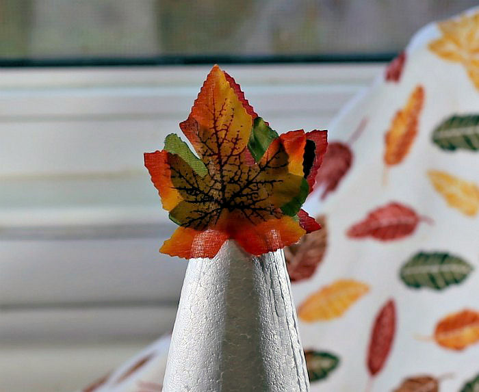Top of the leaf tree
