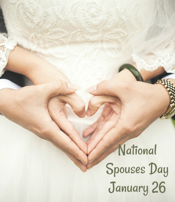 Pay special attention to your mate on National Spouses Day - January 26
