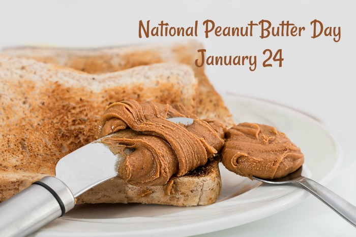 January 24 is National Peanut Butter Day