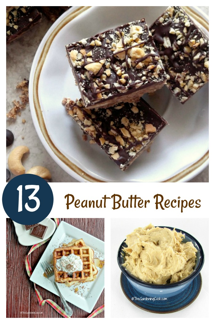 A dozen of my favorite peanut butter recipes - From bars to frosting and waffles