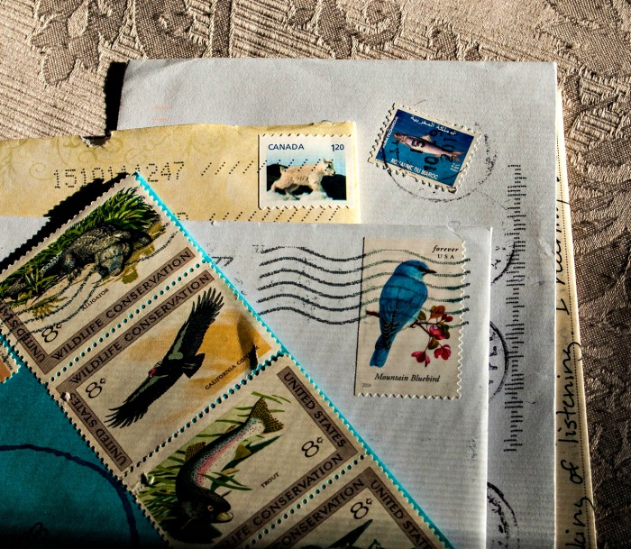Postage stamps are an example of functional stickers