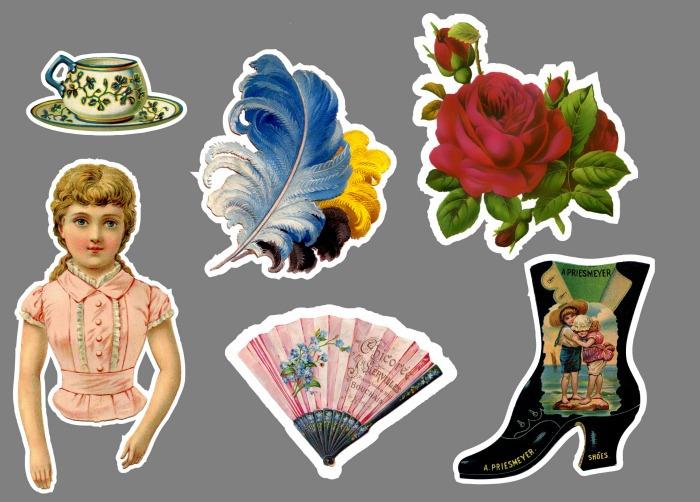 Victorian Stickers