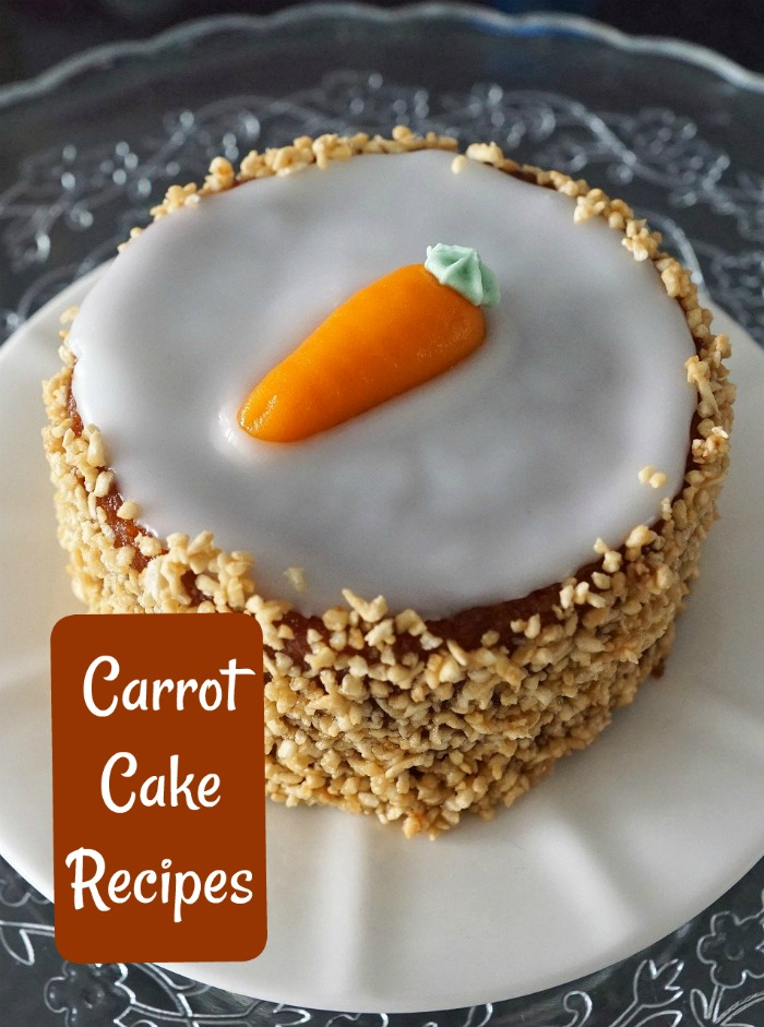 Try some healthy carrot cake recipes with paleo, gluten free and Vegan options