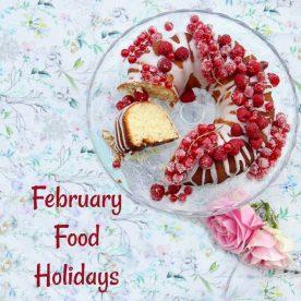 February Food holidays