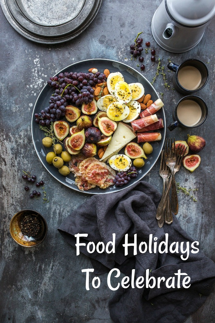 Food Holidays to Celebrate all year long