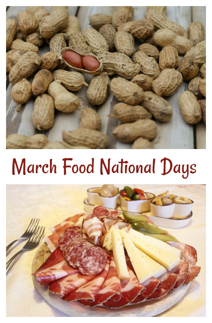 Celebrate this month with these food national days in March