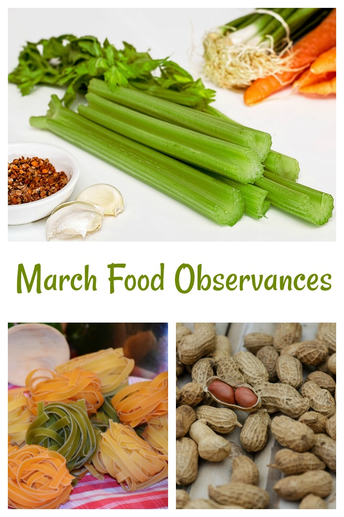 Food Days to Observe in March