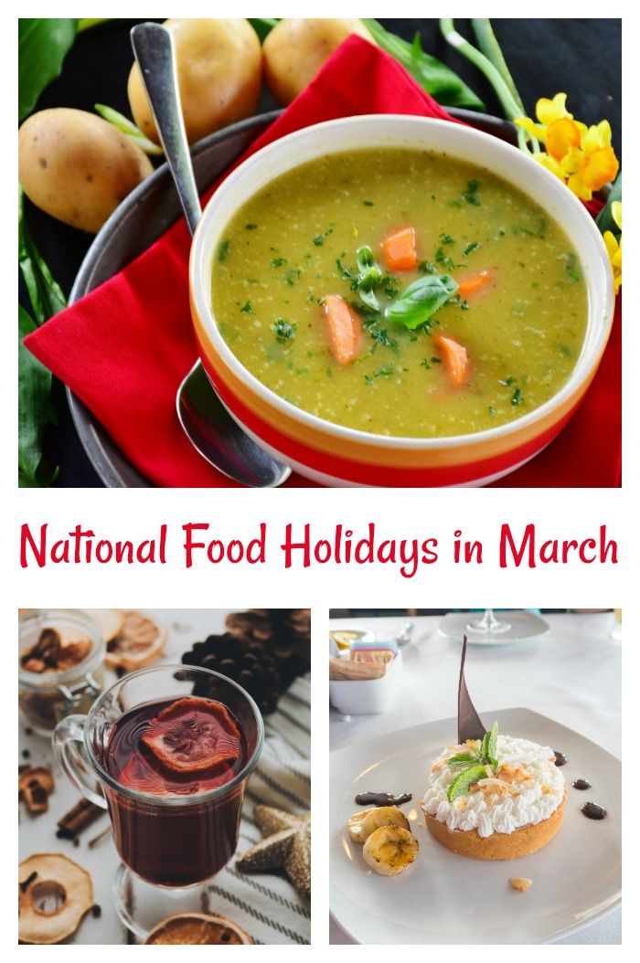 List of Food National Days in March