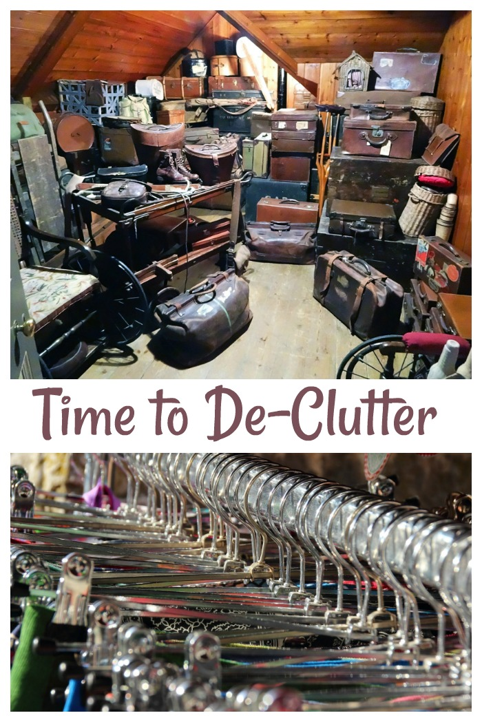 Time to De-clutter