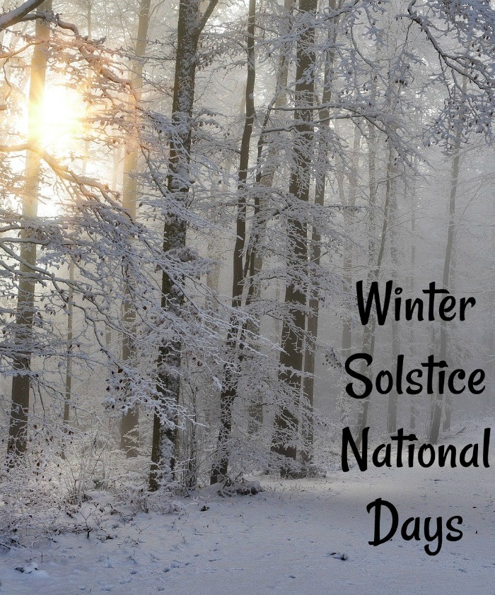 Winter Solstice National Days