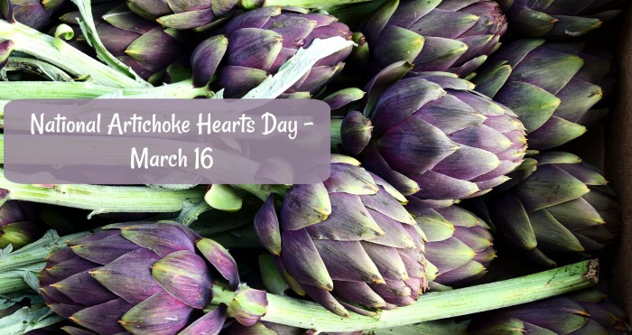 March 16 is National Artichoke Hearts Day