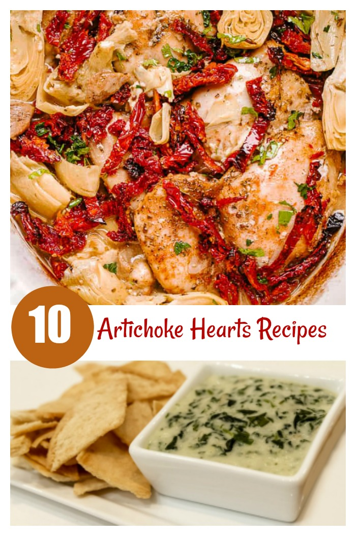 10 Recipes using artichoke hearts