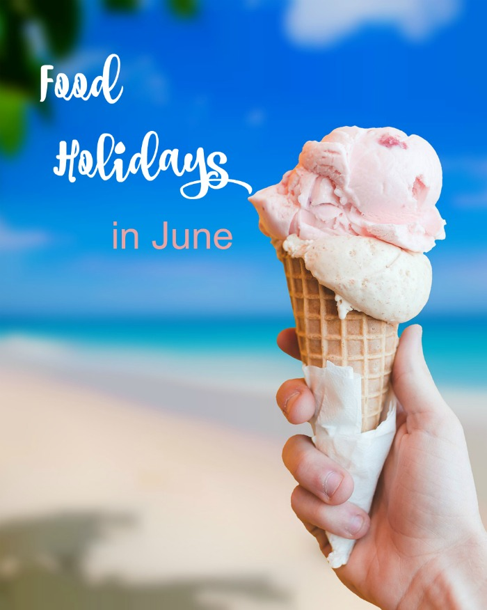 Food Holidays in June