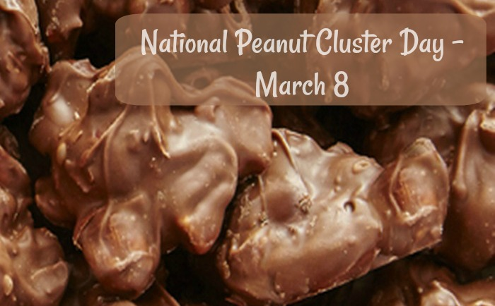 National Peanut Cluster Day is March 8