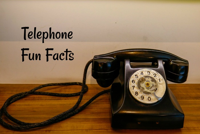 Telephone fun facts