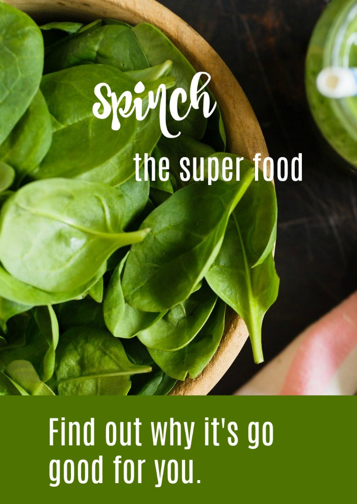 Spinach the super food - find out about its nutrition and why it's so good for you
