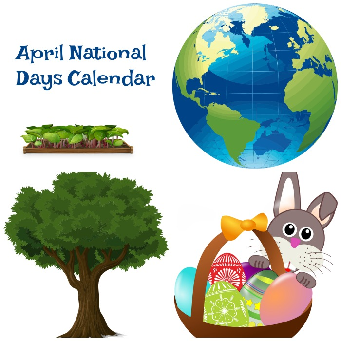 April national day calendar 2021 printable