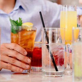 Drinking beverages