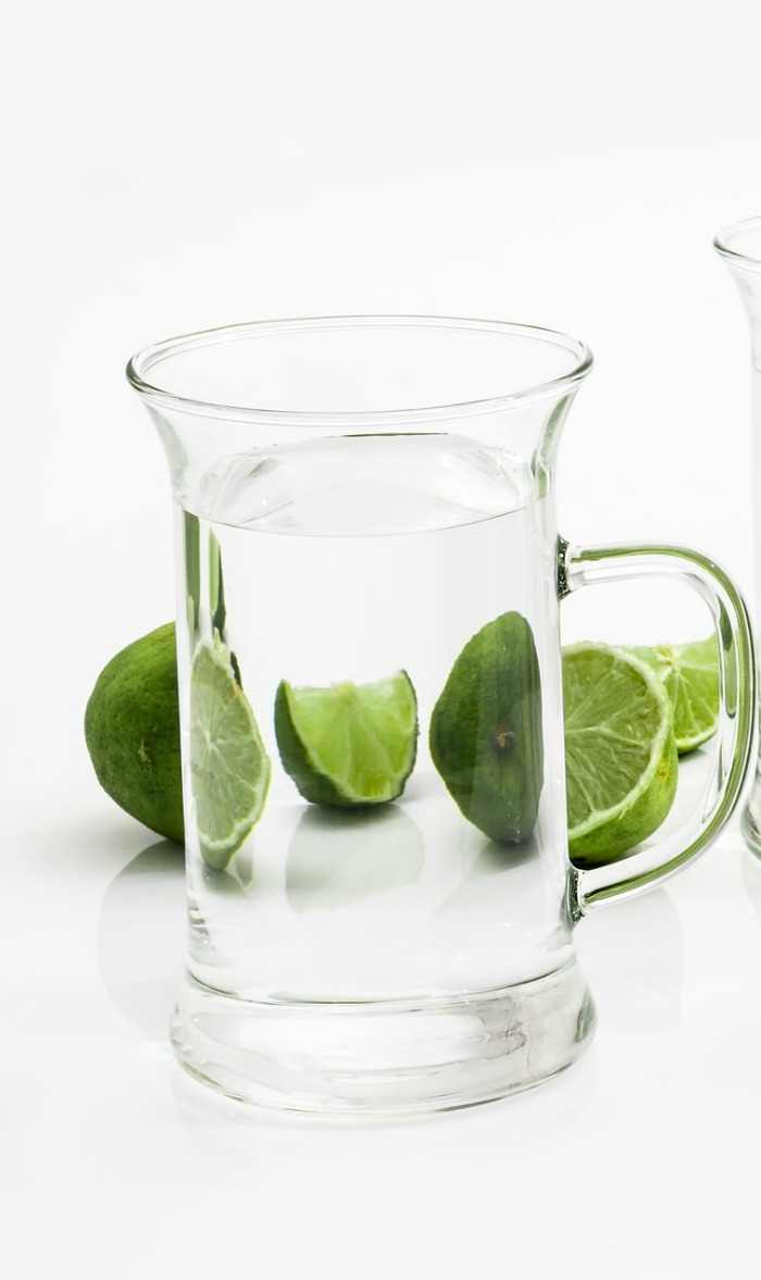 Glass and limes
