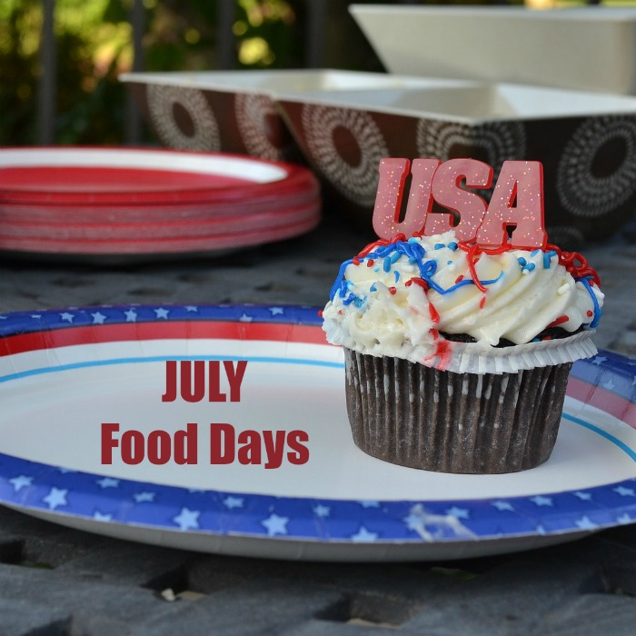 Food celebrations in July