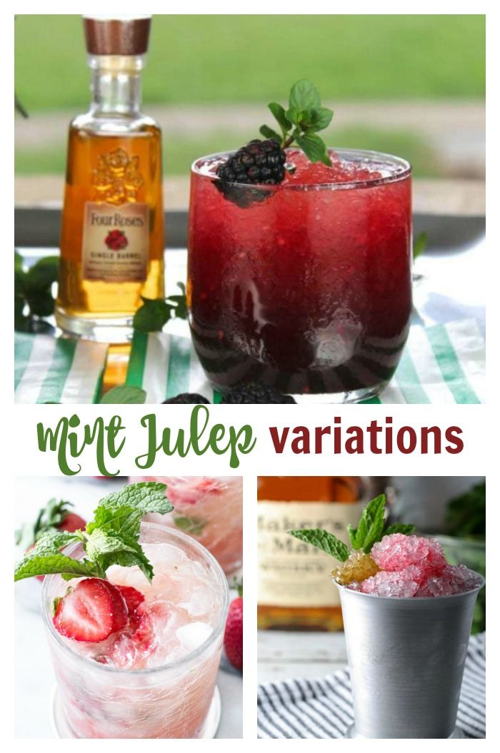 Mint Julep Variations