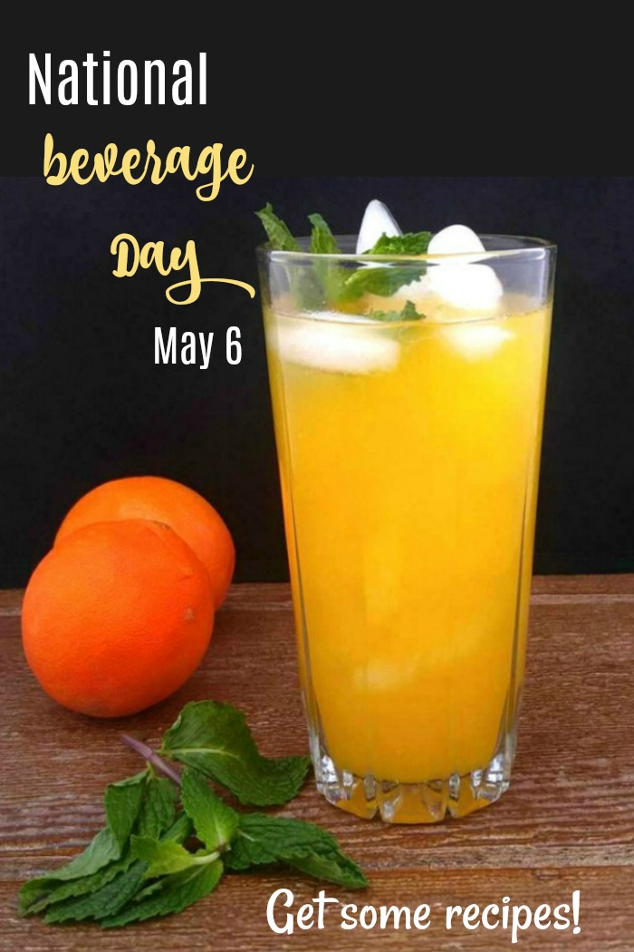 Get some new recipes to try for National Beverage day