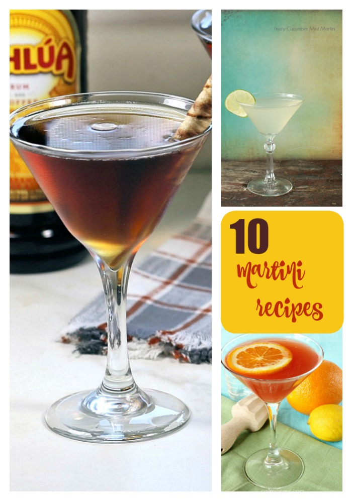 10 Martini Recipes to try for National Martini Day