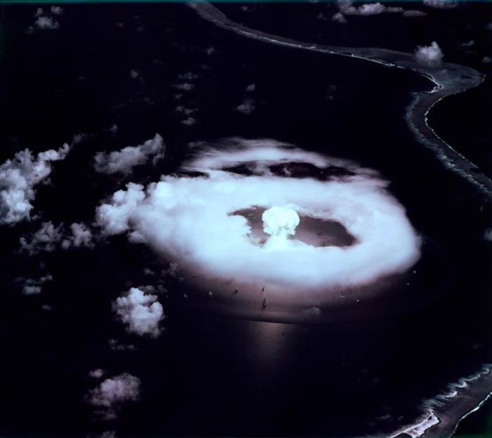 bikini atoll nuclear bombing in 1946