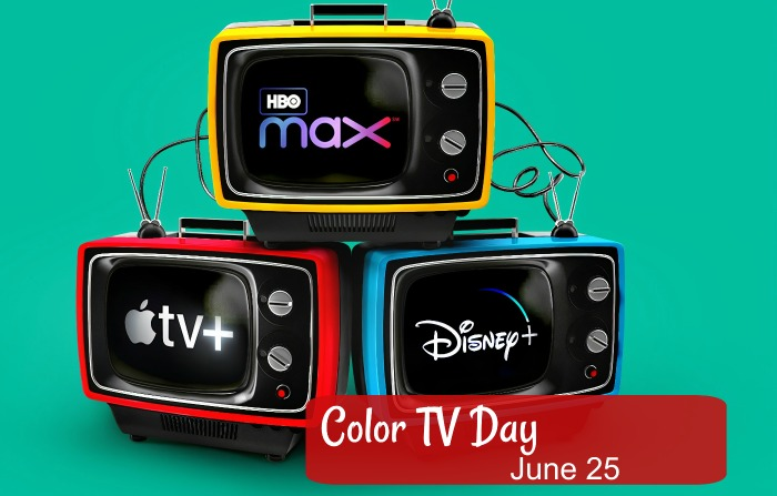 Color TV day is June 25