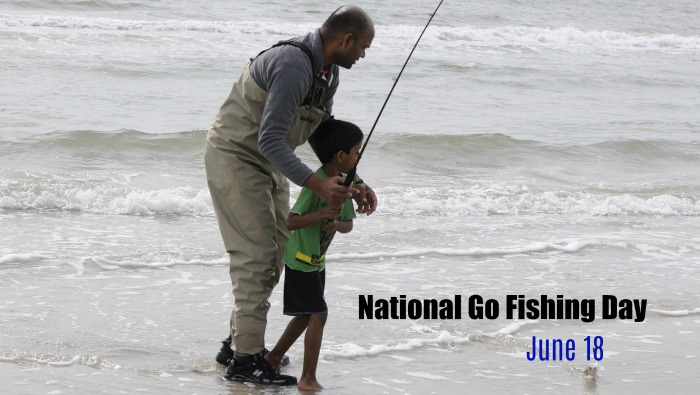 June 19 is National Go Fishing Day