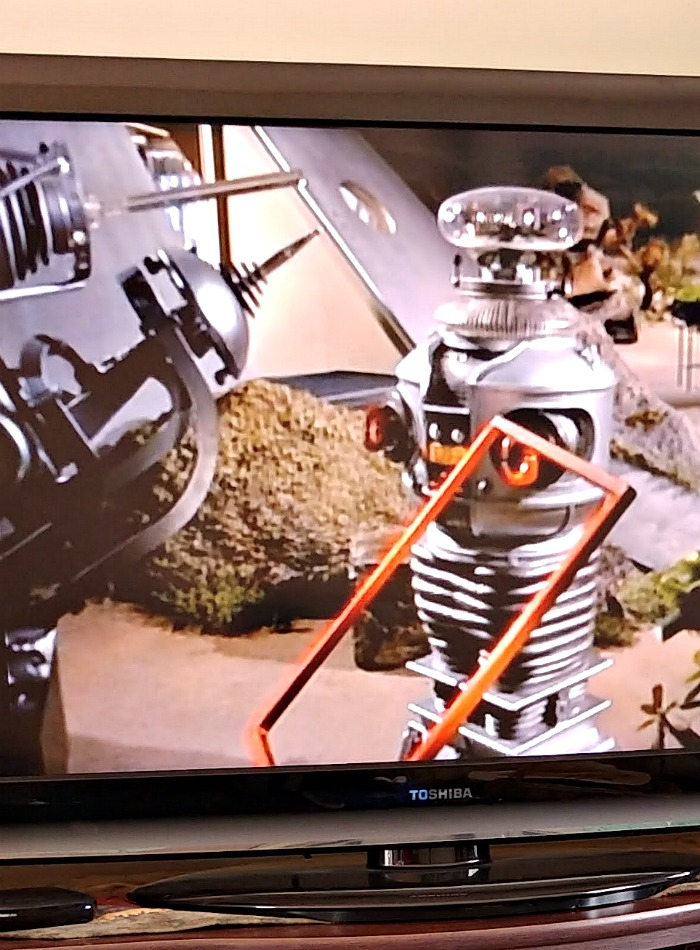 Robot from the TV show Lost in Space